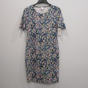 Lularoe Julia Dress Medium New w/Tags